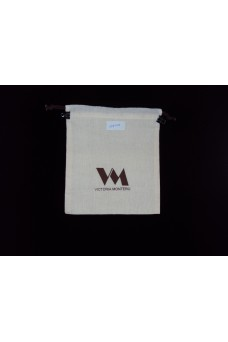 Double Cotton Drawstring Pouch